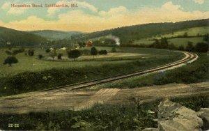 MD - Sabillasville. Horseshoe Bend
