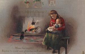 TUCK's ART Series 8652, 1900-10s; Home Sweet Home # 2