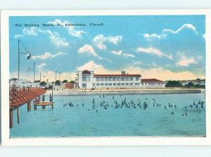 Unused W-Border BUILDING AT BEACH St. Petersburg Florida FL M7345
