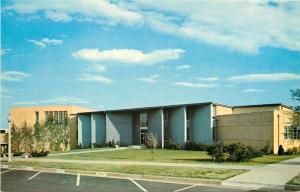 Greenville South Carolina~Bob Jones University~Fine Arts Building~1960s Postcard