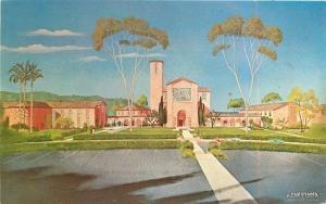 1950s San Diego County California Torrey Pines Christian Church La Jolla  4406