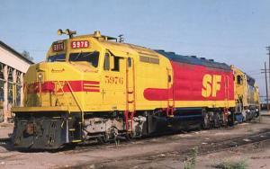 Railroads, Train - Kodachrome Diesel #5976  railroadcards.com