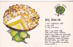 Recipe Card Gran'ma Golds' Key Lime Pie