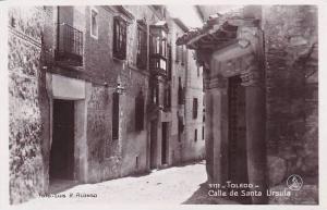 Spain Toledo Calle de Santa Ursula Photo