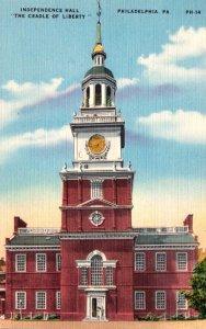 Pennsylvania Philadelphia Independence Hall The Cradle Of Liberty