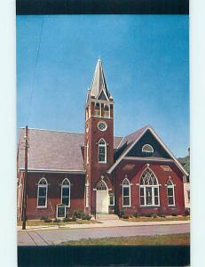 Unused Pre-1980 CHURCH SCENE Harrington Delaware DE p3824@