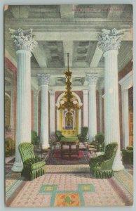 Washington DC~US Capitol interior~Senate Reception aka Marble Room~c1910