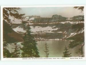 old rppc NICE VIEW Waterton Park - Near Lethbridge Alberta AB W0808