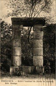 CPA PÉRIGUEUX-Ruines romaines du Jardin de Lestrade (233027)