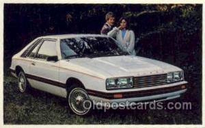 Capri Automotive, Car Vehicle, Old, Vintage, Antique Postcard Post Card  Capri
