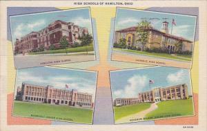 Ohio Hamilton High Schools 1959 Curteich