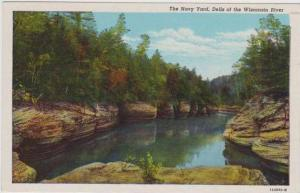 Scenic View of The Navy Yard, Dells of the Wisconsin River, 1930-40s