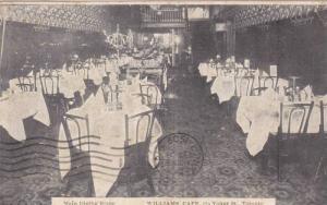 Interior View, Dining Room, Williams Cafe, Yonge Street, Toronto, Ontario Can...