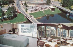 GRANTS PASS, Oregon, 1940-1960's; Riverside Motel And Restaurant