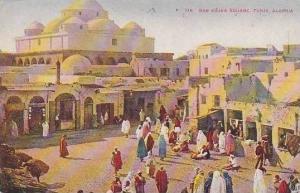Algeria Tunis Bab Sujka Square