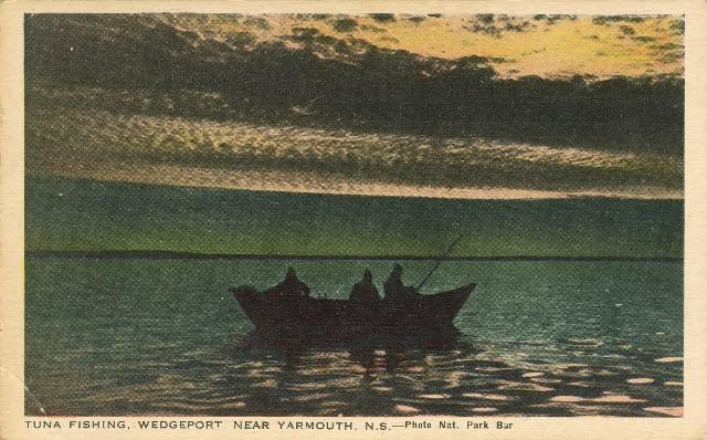 Yarmouth Nova Scotia Night Tuna Fishing Wedgeport Canada
