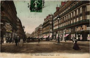CPA PARIS 2e-Avenue de l'Opéra (322102)