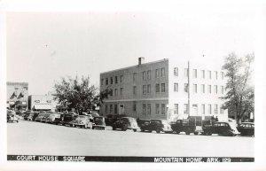 LPCH35 Mountain Home Arkansas Baxter County Court House RPPC