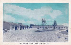NAPPANEE, Indiana, 30-40s ; Hollander Motel
