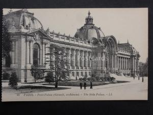 France PARIS Petit Palaise Girault Architecte LL.40 by Levy early 1900's