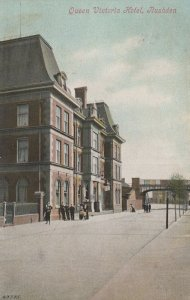 Queen Victoria Hotel Rushden Northamptonshire Old Postcard