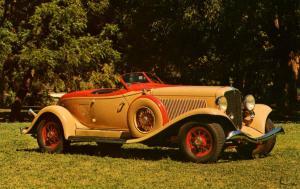 1933 Auburn V-12 Boattail Speedster