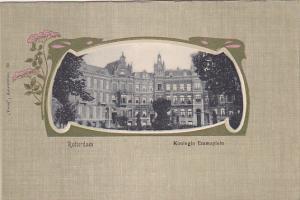 ROTTERDAM , Netherlands , 1890s ; Koningin Emmaplein