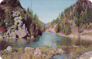 Washington Stevens Pass Highway Wenatchee River Scene
