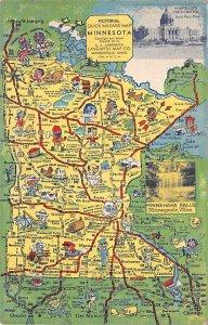 Maps Minnesota USA 1941