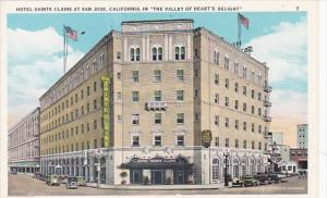 California San Jose Hotel Sainte Claire Curteich