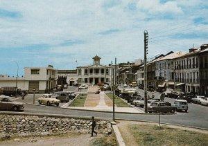 La GUADELOUPE , 1950-70s ; Basse-Terre , Le Cours Nolivos , Aufond , l'Hotel ...