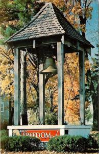 Mount Morris Illinois~Independence Day July 4th~Freedom Bell~1970s Postcard