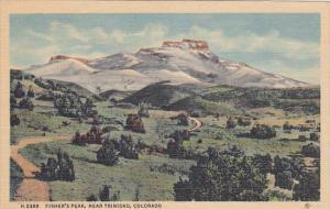 Fred Harvey #H-2388 , Fisher's Peak , Near TRINIDAD , Colorado , 30-40s
