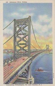 New Jersey Camden Delaware River Bridge