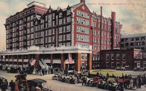 ATLANTIC CITY, New Jersey, 1900-1910s; Hotel Strand