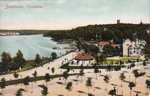 Sweden Stockholm Djurgarden