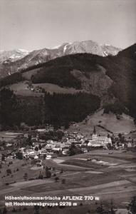 RP, Hohenluftssommerfrische AFLENZ 770m. Mit Hochschwebgruppe 2278m., Austria...