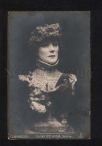 052556 Sarah BERNHARDT Great DRAMA Actress Vintage