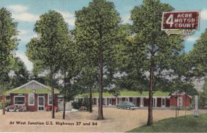 Bainbridge, Georgia, 30-40s; 4 Acre Motor Court, West Junction U.S.Hwys. 27 & 84
