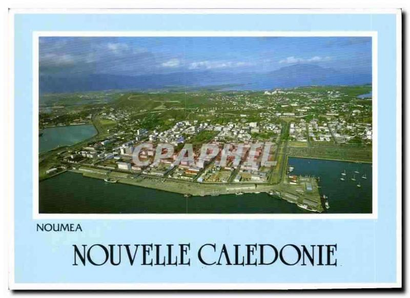 Modern Postcard Noumea New Caledonia seen air of the city