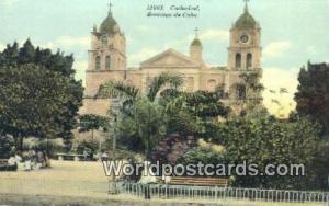 Santiago de Cuba Republic of Cuba Cathedral  Cathedral