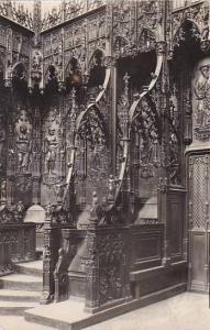 France Auch La Cathedrale La Stalle de l'Archeveque Photo