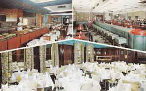 Dining Room, Buffet, Coctail Lounge, Victoria Hotel, Toronto, Ontario, Canada...