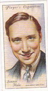 Player Cigarette Card Film Stars 2nd Series No 23 Sonnie Hale Gaumont