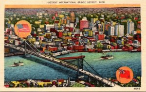 Michigan Detroit International Bridge