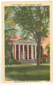 Charles L Cocke Library, Hollins College, Virginia, 30-40s