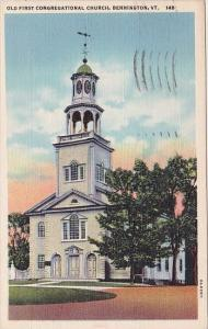 Old First Congregational Church Bennington Vermont 1950