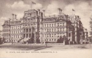 Washington D C State War and Navy Building
