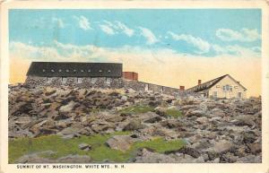 25551 NH, White Moutains, Summit of Mt. Washington