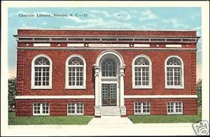 Sumter, S.C., Carnegie Library (ca. 1940)